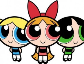 The three powerpuff girls